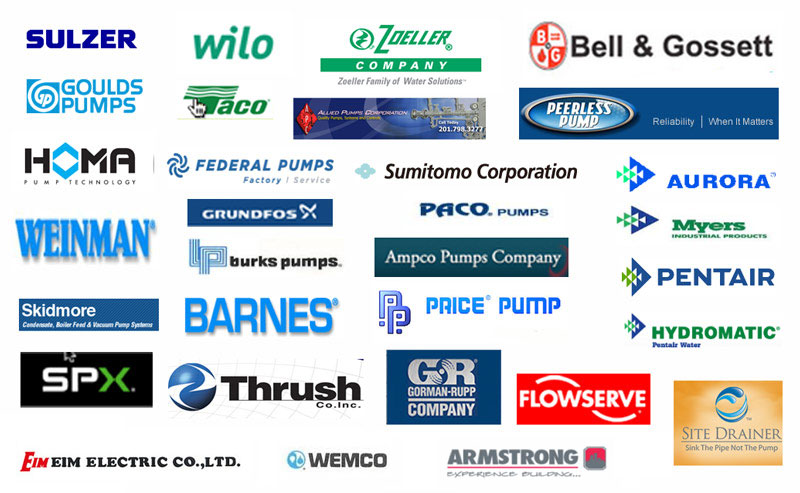 Brands we have provided electric motor repair for